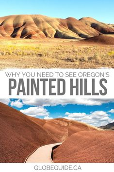 From the best hikes to photo tips to must-do spots, here's everything you need to know about visiting the Painted Hills in Oregon. Oregon travel | USA travel | PNW | Oregon photography