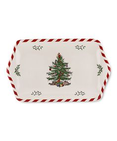 Take a look at this Christmas Tree Peppermint Dessert Tray by Spode on #zulily today!