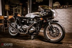 nice Triumph with cool fairing