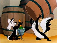 "Pepe - ""Just like shooting fish in a barrel"" Lol! Vintage Cartoon, Cartoon Tv, Cartoon Shows, Looney Tunes Cartoons, Funny Cartoons, Pepe Le Pew, Merrie Melodies, Best Cartoons Ever, Tv Show Music"