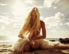 #beach #blonde
