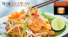 I love Thai food, but not all the calories. What are some lighter options at a Thai restaurant? Thai Food Dishes, Healthy Thai Recipes, Pad Thai Noodles, Laos Food, Slow Cooked Lamb, Bowl Of Soup, Food Menu, Eating Habits, Cooking Recipes