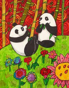 "3rd grader Valerie Ng, ""Bamboo Brunch"""