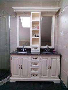 Stylowa szafka łazienkowa, styl prowansalski
