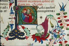 Cosmas, Damian and an unknown beast Chambéry - BM - ms. 0004, f.624, Franciscan breviary, c.1430 Courtesy of Enluminures   http://2.bp.blogspot.com/-AO-EXfD9d0o/VWcofJ5OWyI/AAAAAAAAEh4/tSYqrFrdrs4/s1600/Cosmas%2Band%2BDamian%2Bas%2Bdoctors%2B-%2BChamb%25C3%25A9ry%2B-%2BBM%2B-%2Bms.%2B0004%252C%2Bf.624%252C%2BFranciscan%2Bbreviary%252C%2Bc.1430%2B%2528from%2BEnluminures%2529.jpg