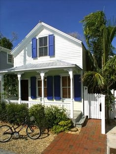 "****Private Homes, Old Town Vacation Rental - VRBO 72848 - 3 BR Key West House in FL, ""Coconut Cabana"" Old Town Tropical Bungalow"