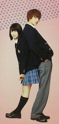 "[16 min SP making, BTS, unreleased scenes] https://www.youtube.com/watch?v=lRi2MPMC4d0     Fumi Nikaido x Kento Yamazaki, J LA movie ""Ookami shoujo to kuro ouji (Wolf girl n black prince)"". Release: May/28/16"
