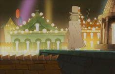 //Professor Layton, Miracle Mask, Masked Gentleman, Monte d'or
