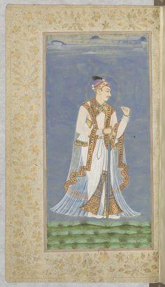 Muhammad Qutb Shah 10 Muharram, Indian Artist, Indian Paintings, Muhammad, Islamic Art, Emperor, Art And Architecture, Oriental, Miniatures