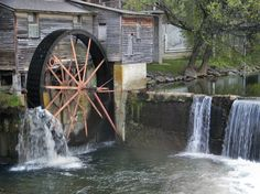I love this old mill picture. We have many of these old mills in the area.