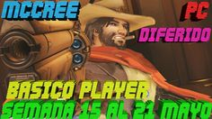 Overwatch Gameplay Español | Let's play Overwatch | ARCADE -  MCCREE | D...