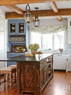 These dream kitchen design ideas exude style and sophistication with their attention to details, pro-grade appliances, and gorgeous materials and finishes. We hope our inspiration helps you design your dream kitchen.