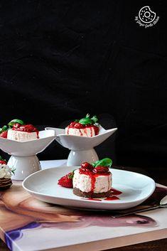 No-Bake Mini Strawberry Nutella Cheesecake   Video