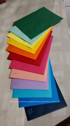 DIY: 12 envelopes - 1 Ano de Namoro - Surpresa Prática