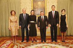 Queen Sofia, King Juan Carlos, Queen Rania, King of Jordan, King Felipe, Queen Letizia