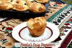 Mommy's Kitchen - Home Cooking & Family Friendly Recipes: Louise's Easy Popovers