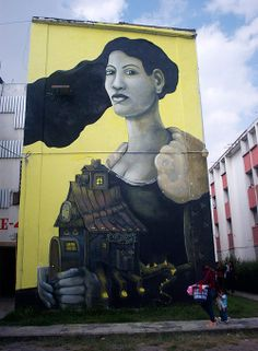 Street art Mexico by Fusca - Mexico, 2013 http://gotomexico.co.uk/