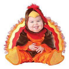 Lil Gobbler Costume - Baby/Toddler, Infant Unisex, Size: 18 Mo/2T, Multicolor