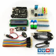 Anfänger Starterkit mit Arduino UNO kompatiblem Board