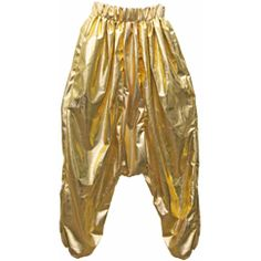 Hammer pants (had a band director in elementary school who wore these on a field trip..they weren't shiny gold though, lol)