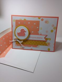 Shell's Life Stampin' Up! Something for Baby bundle.  Please see blog for details: http://shellsq.blogspot.com/2014/09/pink-duckie.html