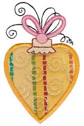 Whimsy Ornaments Applique 2, SWAK Pack - 2 Sizes! | Christmas | Machine Embroidery Designs | SWAKembroidery.com Bunnycup Embroidery