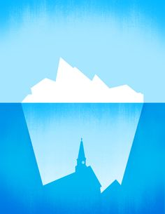 Iceberg Church Illustration