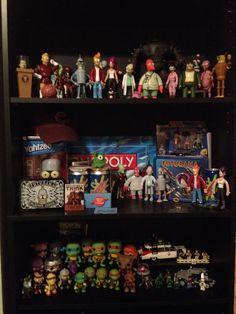 My nerd shelf. Or rather, shelves