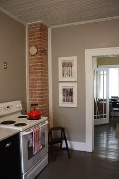 wall color = behr 2-in-1 ashes.  also recommended by homeowner: elephant skin (darker)