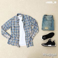Today's top #outfitgrid is by @reed_jb. ▫️#SaintLaurent #Shirt ▫️#JohnElliottCo…