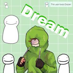 Love Dream, Dream Art, My Love, Minecraft Wallpaper, Minecraft Fan Art, Funny Dog Jokes, Funny Memes, Dream Team App, Team Wallpaper
