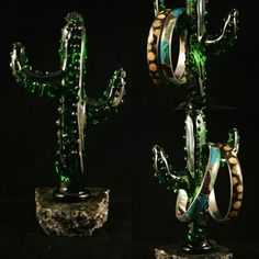 Gift of Glass Blown Glass Art, Jewellery Display, Sculpture Art, Cactus, Gifts, Jewelry, Presents, Jewlery, Bijoux