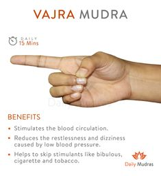 The vajra symbolizes for the nature of reality # Health and fitness Yoga Mantras, Meditation Exercises, Kundalini Yoga, Pranayama, Yoga Restaurativa, Hand Mudras, Yoga Lyon, Qi Gong, Restorative Yoga