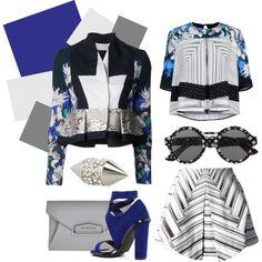 """""""Blue prints"""" by lelouka on Polyvore"""