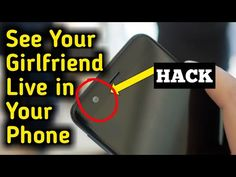 Control Any Phone's Camera & Use it as a CC TV Camera with this Android Application . With this Application you Can Control any Phone Front and back Camera a. Android Phone Hacks, Cell Phone Hacks, Car Paint Repair, Hacking Websites, Android Secret Codes, Phone Codes, Brain Facts, Vedic Mantras