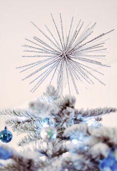 starburst diy - decor - tree topper by ...love Maegan, via Flickr