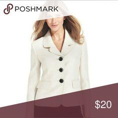 Kasper women's blazer jackets seperates Stylish 3 button polyester blazer plus size Kasper Jackets & Coats Blazers