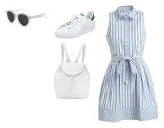 """""""Sin título #7241"""" by ceciliaamuedo ❤ liked on Polyvore featuring Milly, adidas, Nancy Gonzalez and RetroSuperFuture"""
