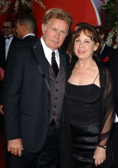 Martin Sheen and his wife Janet