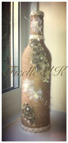 Handmade twine wedding gift