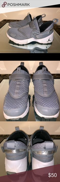 Nike Jordan Trunner LX Wolf Grey Sneakers Shoes are in excellent condition  overall and have barely 5390a4e888