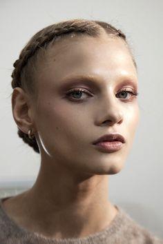 "amkett: "" Anna Selezneva backstage at Valentino haute couture S/S 2011 """