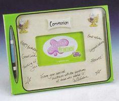 First Communion Signature Frame