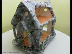 Tree Stump House Part One - YouTube
