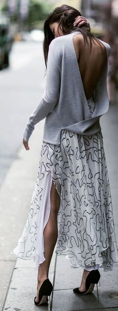 Backless | re-pinned by http://www.wfpblogs.com/category/rachels-blog/