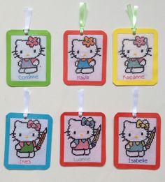 Hello kitty bookmarks 1