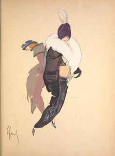 Robes et femmes (1913) ~ by Enrico Sacchetti