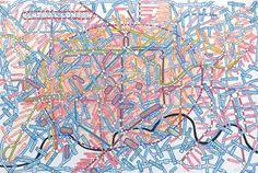 Paula Scher's Maps (via coolhunting)