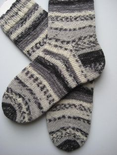 hand knitted womens wool socks UK 4-6 US 6-8 by sockysocks on Etsy