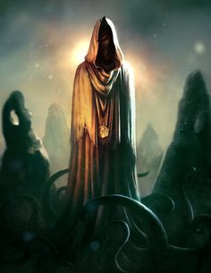 Hot Concept Art by Borja Pindado. Hp Lovecraft, Dark Fantasy, Fantasy Art, Fantasy Races, Yog Sothoth, Call Of Cthulhu Rpg, Lovecraftian Horror, Eldritch Horror, Tumblr